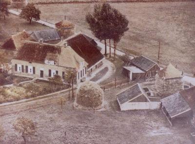 historisch onderzoek van de oude boerderij, de situatie omstreeks 1960