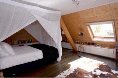 royale slaapkamer verdieping achterhuis